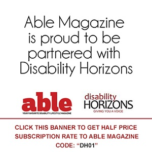 Able magazine and Disability collaboration promo