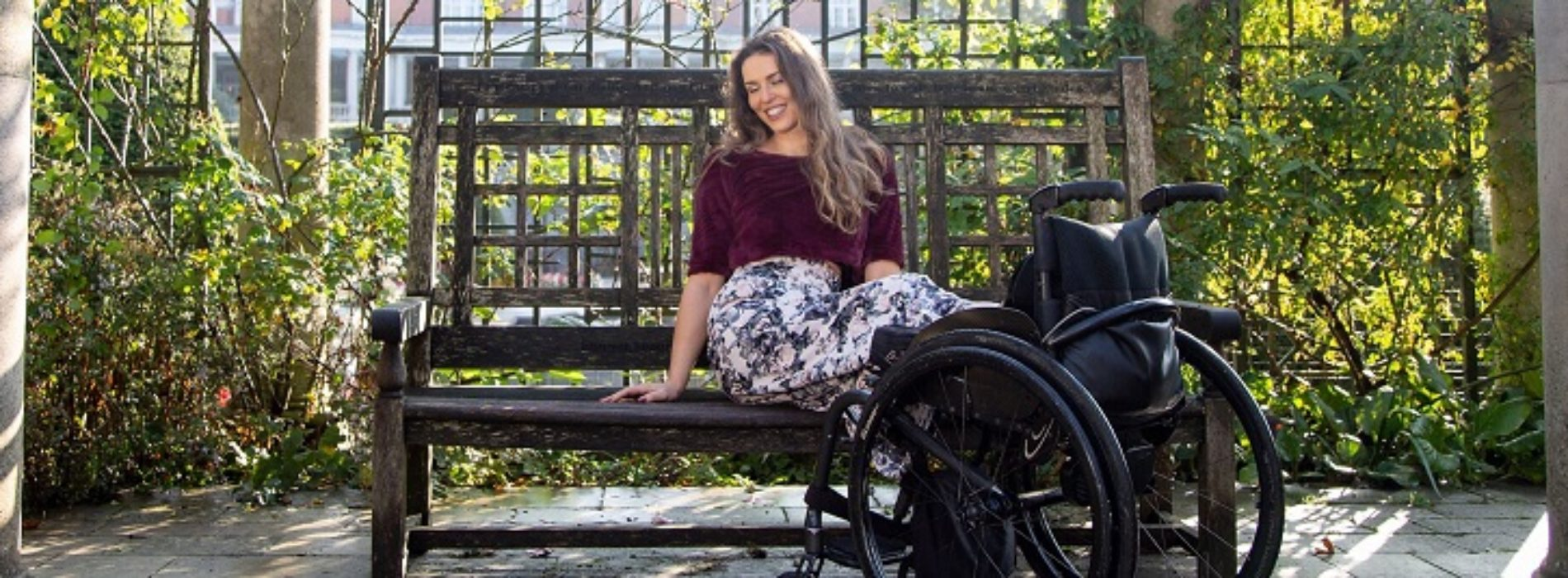 Disabled model Samanta Bullock on how to love your body