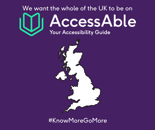 AccessAble map of the UK