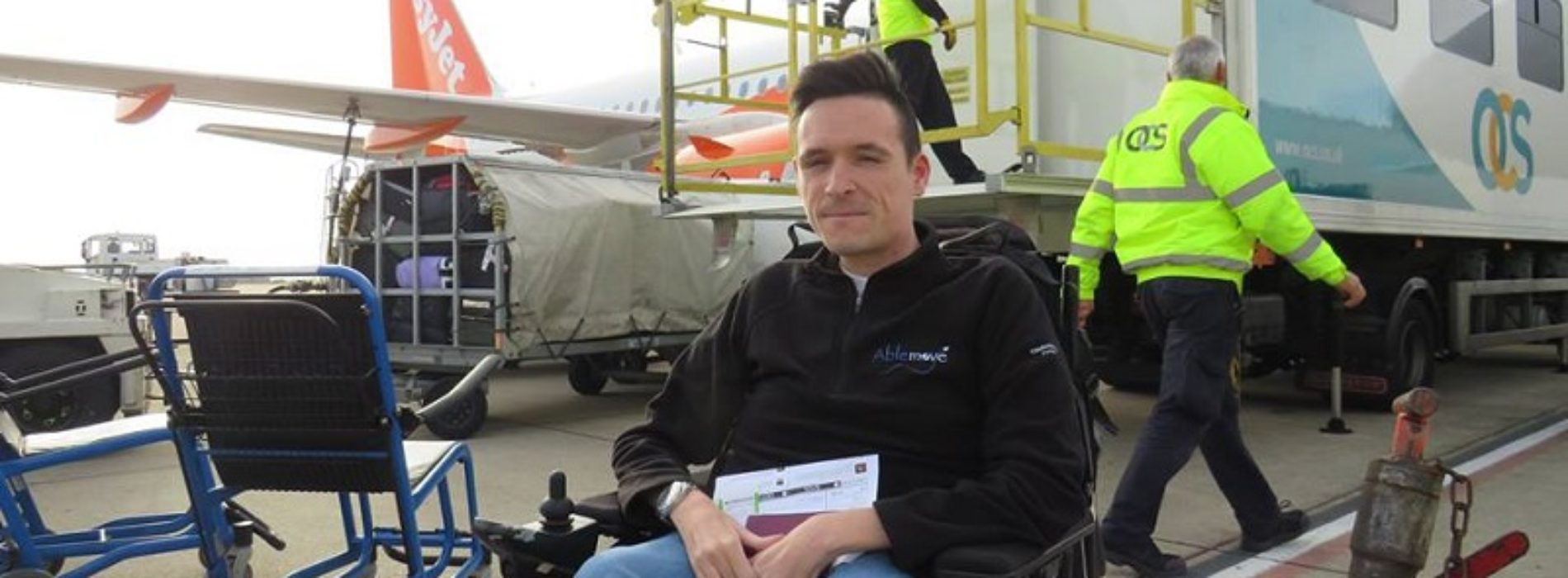 Disabled entrepreneur Josh on his invention to help wheelchair users travel more easily