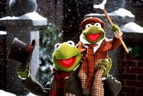 Kermit the Frog in A Christmas Carol