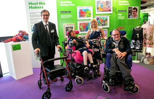 Livability exhibition of disabled artists