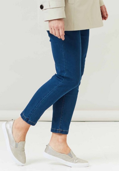 Adaptive clothing: super-stretch velcro jeans for disabled people
