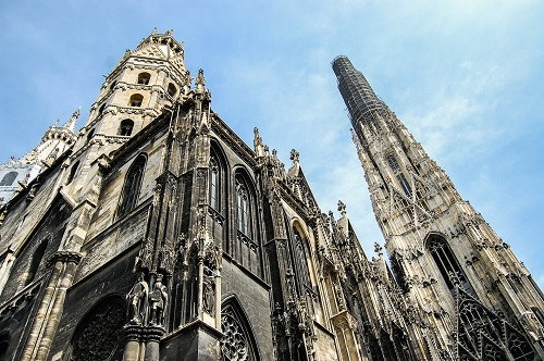 Vienna cathedral accessibility