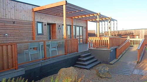 Wheelchair access to luxury lodge