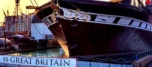Brunell's SS Great Britain ship Bristol