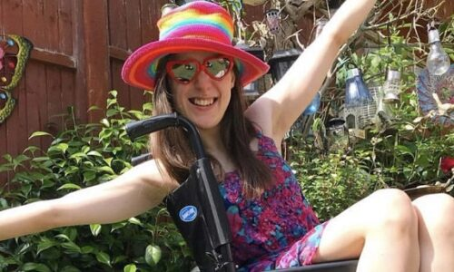 Using writing as a way to free yourself and increase disability awareness