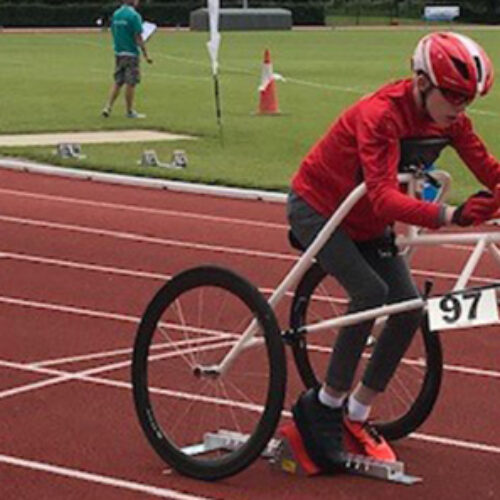 World Records for RaceRunners at Cerebral Palsy Sport event