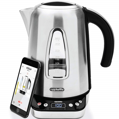 Smart kettle for disabled people