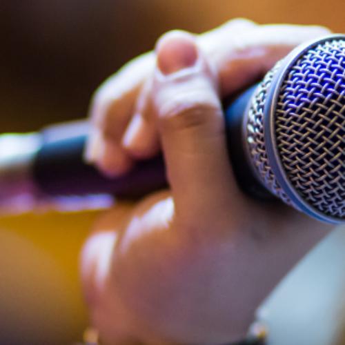 Stroke survivor turned blogger, public speaker and podcast star