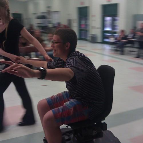 Dancing on Wheels!