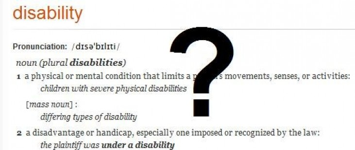 Photo of Disability, what's that?