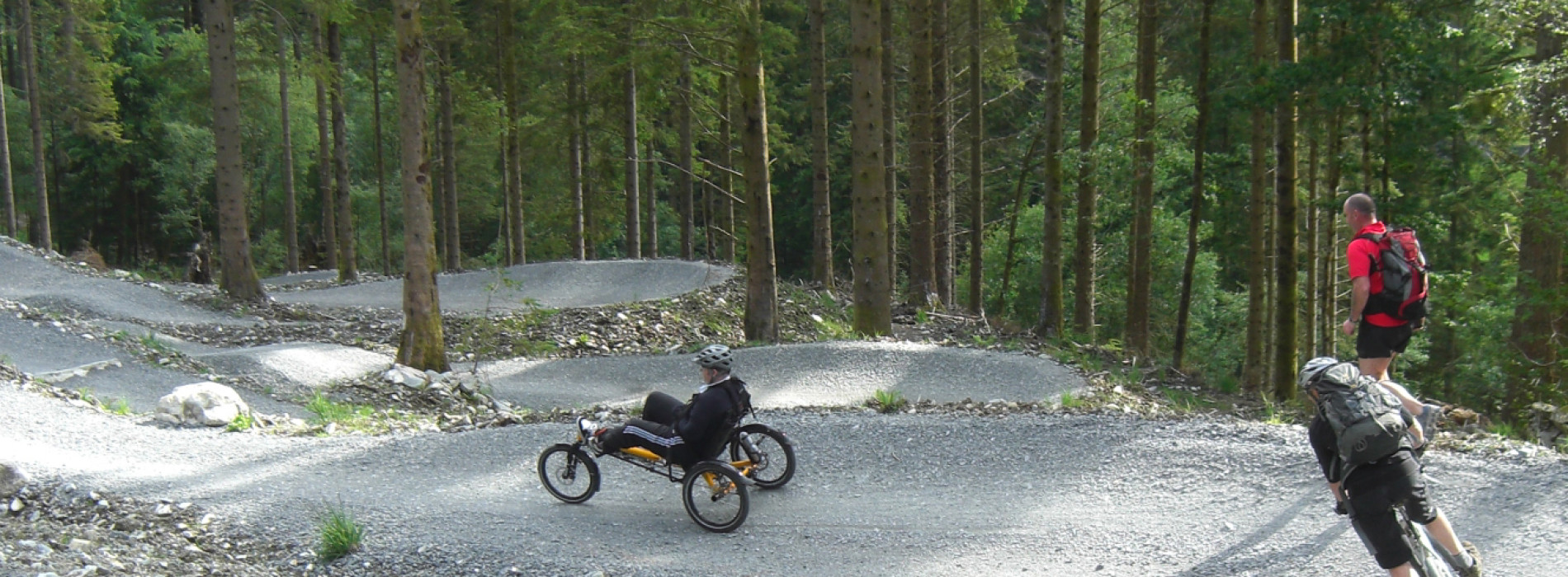 Adaptive Mountain Biking: Getting off the tarmac and onto the dirt!