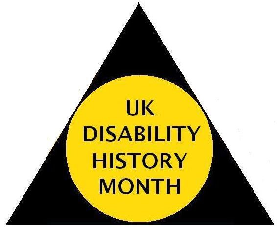 Photo of UK Disability History Month!
