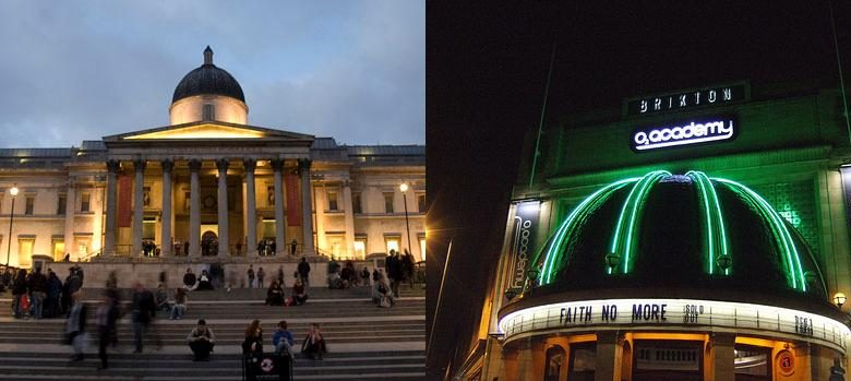 Photo of A trip to the National Gallery and the Brixton Academy