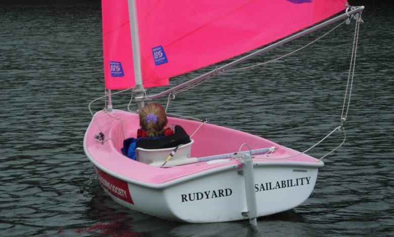 Photo of Accessible sailing with Rudyard Sailability