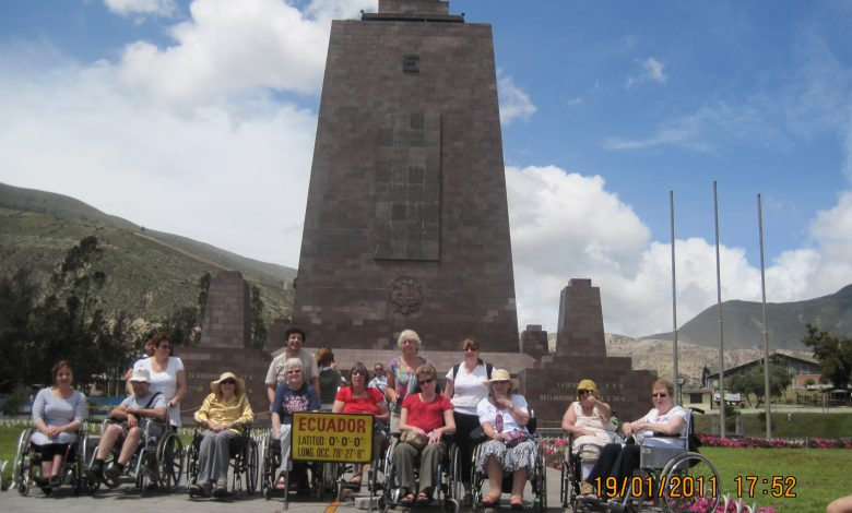 Photo of Wings on Wheels adapted holiday to Ecuador