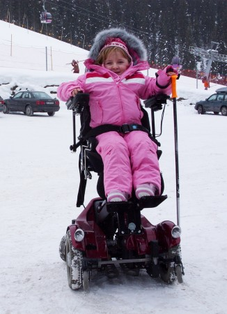 Tilly Griffiths | Powered wheelchair | Disability Horizons