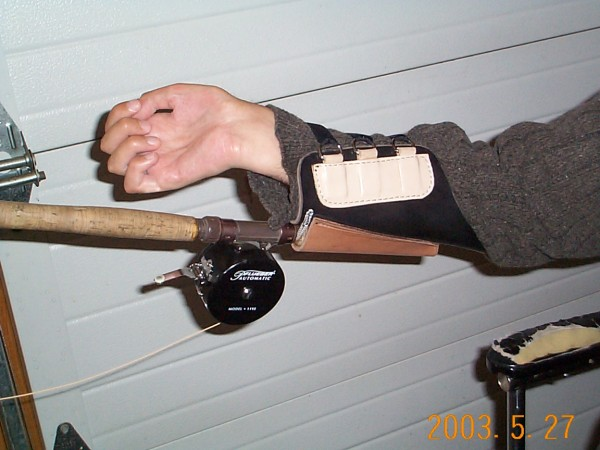 Adapted fishing rod