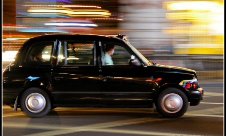 Photo of Hailo-ing a cab!