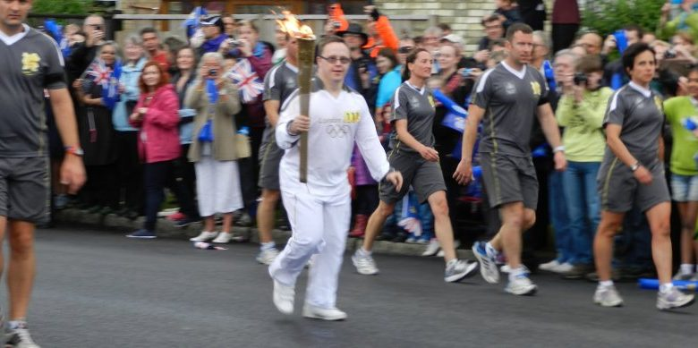 Photo of Olympic torch relay: one runner's story