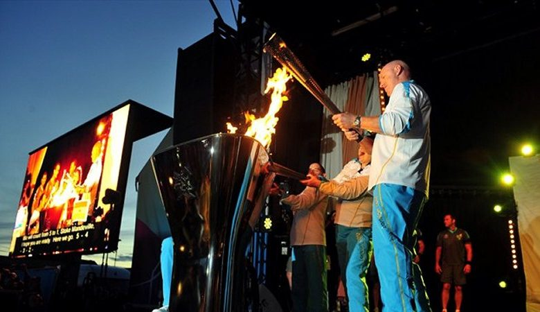 Photo of Carrying the Paralympic Flame to victory