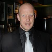 Disabled comedian Neil Skene