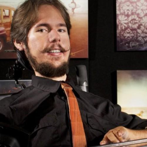 AJ Brockman: Differently abled through digital art