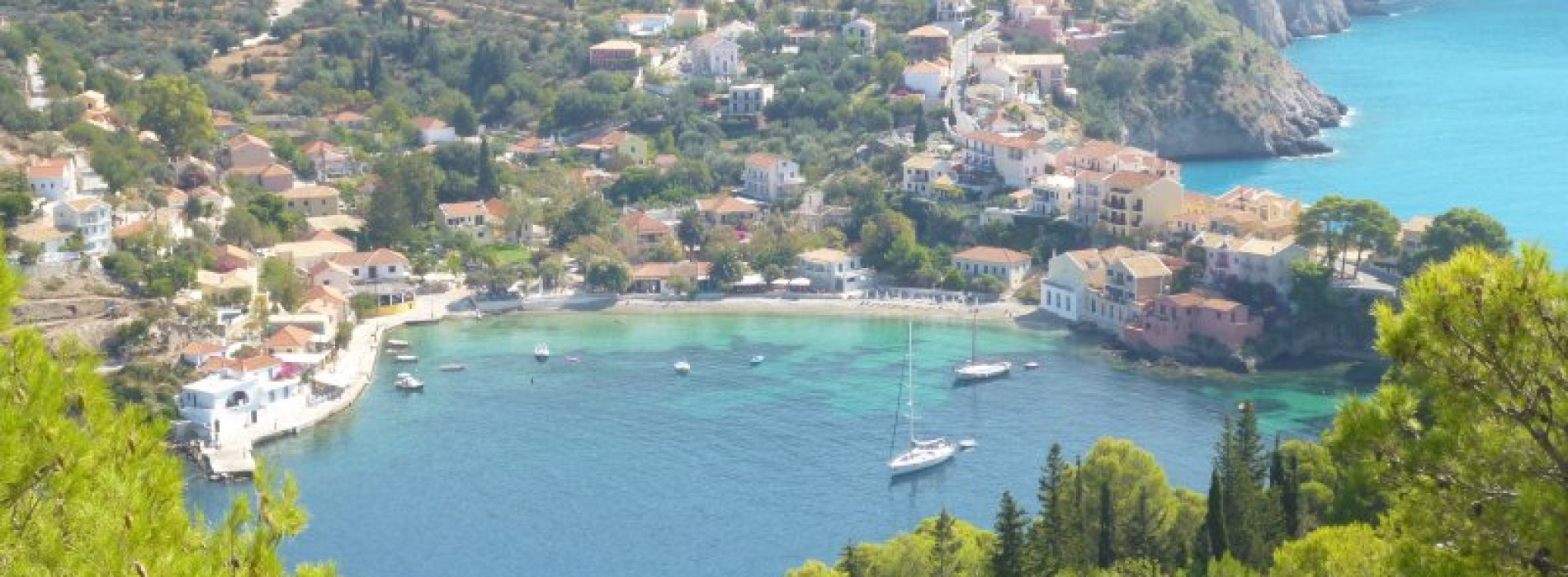 Greek Islands: sun and stony beaches