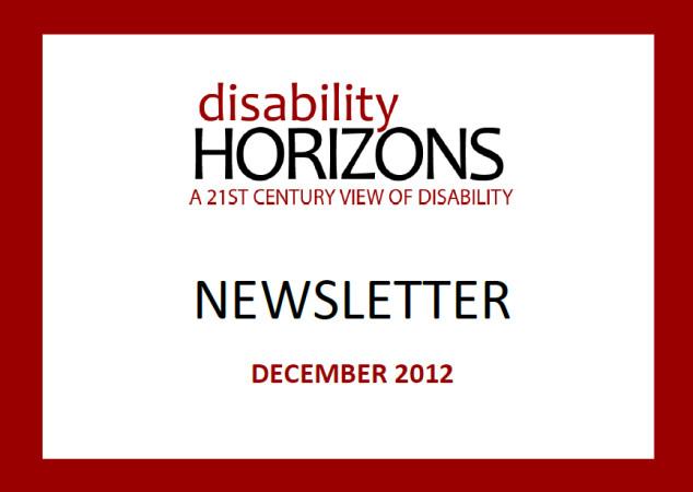 DH Newsletter - December 2012