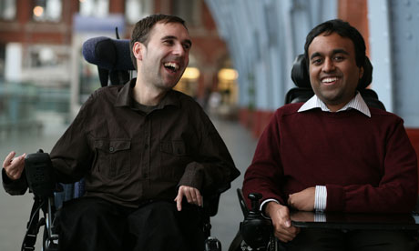 Martyn Sibley and Srin Madipalli, founders of Disability Horizon magazine