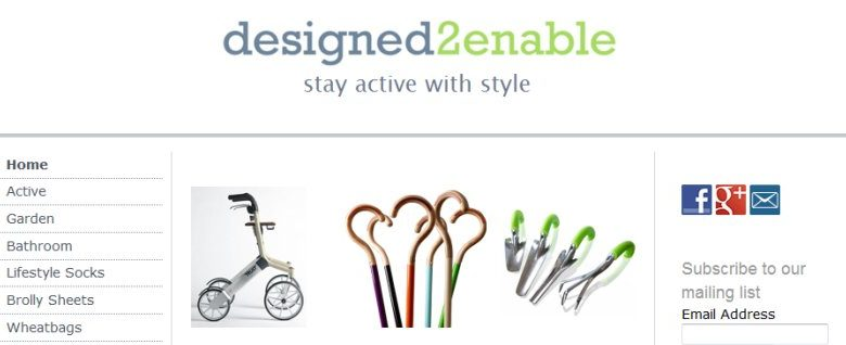 Photo of Designed2enable: assisted living products