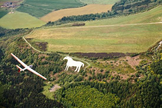 White horse Yorkshire