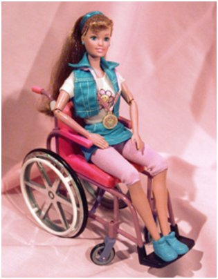 Disabled Barbie doll