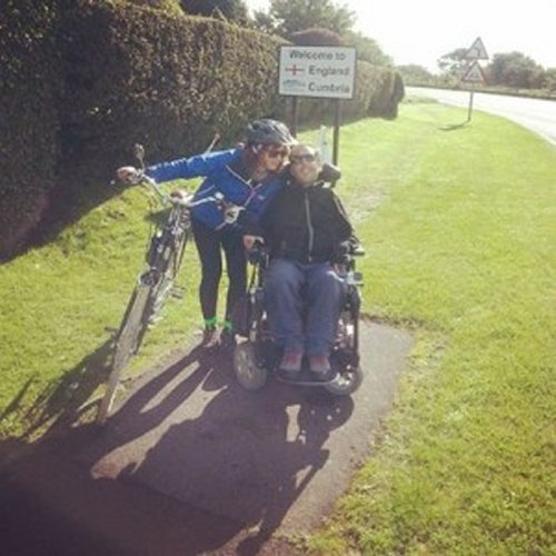 Martyn-and-Kasia-What Disability challenge