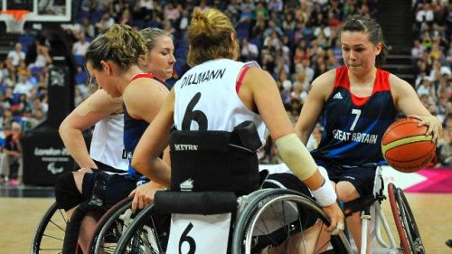 Wheelchair Basketball - National Paralympic Day