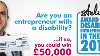Photo of Calling all disabled entrepreneurs. Fancy winning £50,000?