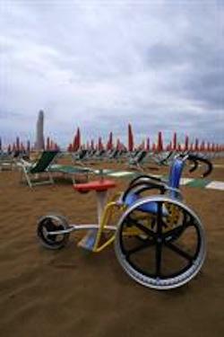 Accessible beach bikes Tenerife