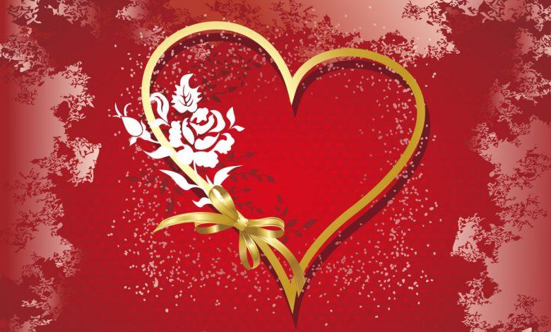 Valentine's Day heart picture