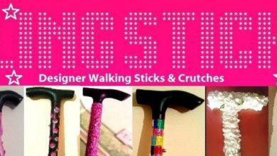 Photo of Blingsticks: designer walking sticks