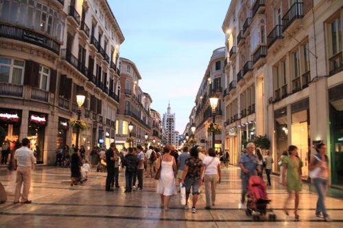 Malaga City shopping centre