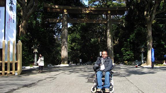 Photo of Srin Madipalli in Japan