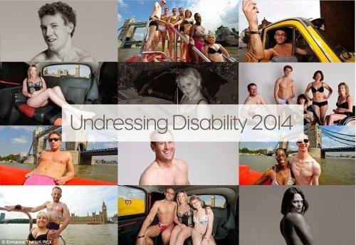Undressing Disability - Enhance the UK calendar