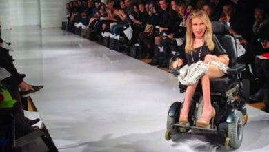 Photo of New York Fashion Week: the first runway model in a wheelchair