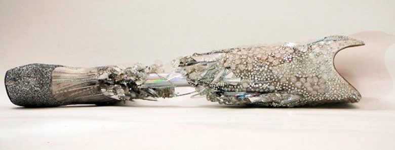The Alternative Limb Project - Swarovskii crystal prosthetic leg