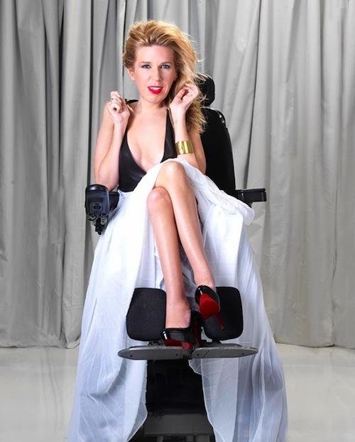 danielle-sheypuk - disabled model -New York Fashion week