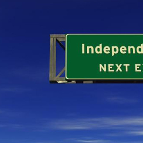 Can a 'caring' relationship support independence?