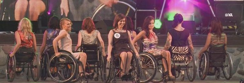 Ms. Poland in a Wheelchair Pageant
