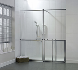 Impressions accessible shower enclosure from Chiltern Invadex