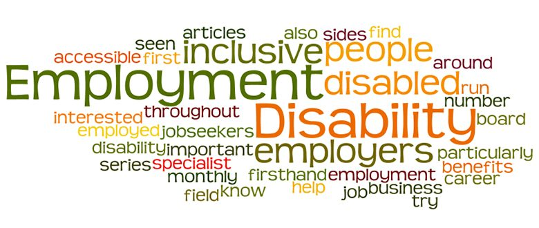 Disability jobs and employment